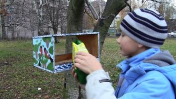 Мы подарили попугаев победителям акции «Добрая кормушка»